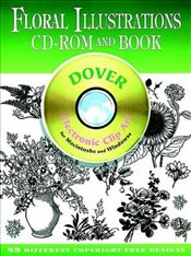 Floral Illustrations (Dover Electronic Clip Art) - Inc, Dover Publications