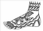 Mehndi Designs (Dover Electronic Clip Art) - Noble, Marty