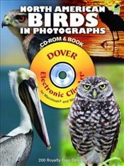 North American Birds in Photographs (Dover Electronic Clip Art) - Byland, Steve