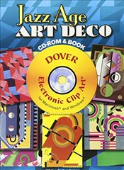 Jazz Age Art Deco CD-ROM and Book (Dover Electronic Clip Art) - Gladky, Serge