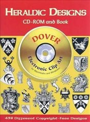 Heraldic Designs CD-ROM and Book (Dover Electronic Clip Art) - Inc, Dover Publications