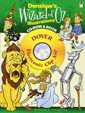 Denslows Wizard of Oz Illustrations (Dover Electronic Clip Art) - Menten, Ted