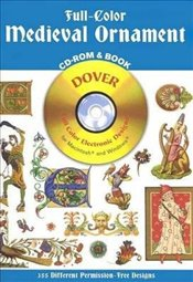 Full Colour Medieval Ornaments (Dover Electronic Clip Art) - Inc, Dover Publications