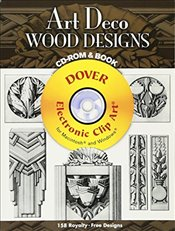 Art Deco Wood Designs (Dover Electronic Clip Art) - Malcles, Laurence