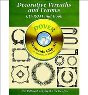 Decorative Wreaths and Frames by Clip Art ( Author ) ON Nov-01-2000, CD-ROM - Art, Clip