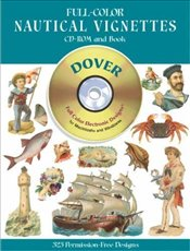 Full-Color Nautical Vignettes (Dover Pictorial Archives) - Inc, Dover Publications