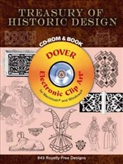 Treasury of Historic Design (Dover Electronic Clip Art) - Estrin, Michael