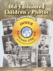 Old-fashioned Childrens Photos (Dover Electronic Clip Art) - Mager, Alison