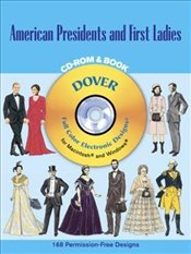 American Presidents & First Ladies (Dover Electronic Clip Art) - Tierney, Tom
