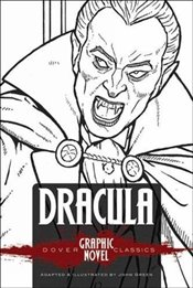DRACULA (Dover Graphic Novel Classics) (Dover Graphic Novels) - Stoker, Bram