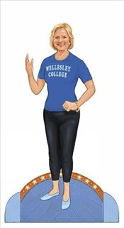 Hillary Clinton Paper Doll Collectible Campaign Edition - Foley, Tim