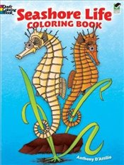Seashore Life Coloring Book (Dover Nature Coloring Book) - DAttilio, Anthony