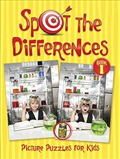 Spot the Differences Picture Puzzles for Kids - Donahue, Peter