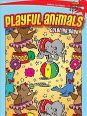 SPARK Playful Animals Coloring Book (Dover Coloring Books) - Maderna, Victoria