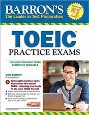 Barrons Toeic Practice Exams with MP3 CD : Book & MP3 CD 3e  - Lougheed, Lin