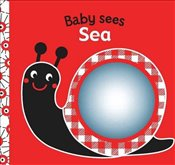Sea : A Soft Book and Mirror for Baby!   - Rettore,