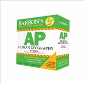 Barrons AP Human Geography Flash Cards 3e - Alagona, Peter S.
