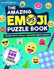 Amazing Emoji Puzzle Book: Packed with Totally Awesome Emoji Puzzles and 200 Emoji Stickers - Group, Carlton Publishing