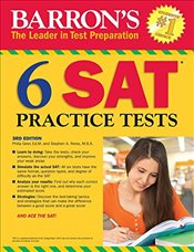 Barrons 6 SAT Practice Tests 3e - Geer, Philip