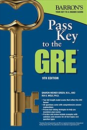 Pass Key to the GRE 9e - Green, Sharon Weiner