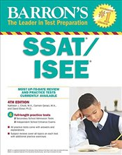 Barrons SSAT/ISEE 4e : High School Entrance Examinations -