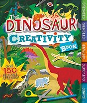 Dinosaur Creativity Book: Games, Cut-Outs, Art Paper, Stickers, and Stencils (Creativity Books) - Worms, Penny