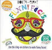 Forty Eight Funny Faces: Use the Cling-On Stickers to Make Funny Faces! - Golding, Elizabeth