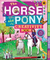 Horse and Pony Creativity Book (Creativity Activity Books) - Pinnington, Andrea