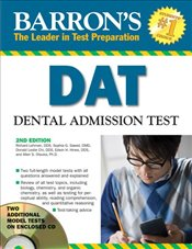 Barrons DAT : Dental Admissions Test - Lehman, Richard