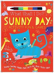 Sunny Day Activity Fun & Games: Drawing, Searching, Numbers, More! Dot to Dot, Mazes, Puzzles Galore - Golding, Elizabeth