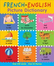 French-English Picture Dictionary (First Bilingual Picture Dictionaries) - Bruzzone, Catherine