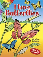 I Love Butterflies (Dover Nature Coloring Book) - Beylon, Cathy