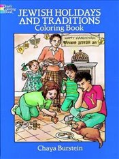 Jewish Holidays and Traditions Coloring Book - Burstein, Chaya M.