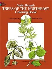 Trees of the Northeast Coloring Book (Dover Nature Coloring Book) - Stefen, Bernath