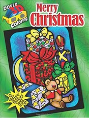 Merry Christmas (Dover 3-D Coloring Book) - Menten, Ted