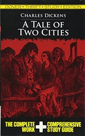 Tale of Two Cities Thrift Study Edition (Dover Thrift Study Edition) - Dickens, Charles