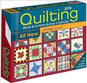 Quilting Block and Pattern-a-Day 2018 Day-to-Day Calendar - Kratovil, Debby