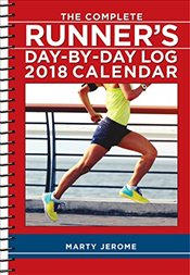 Complete Runners Day-By-Day Log 2018 Diary - Jerome, Marty