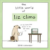 Official Little World of Liz Climo : The 2018 Wall Calendar - Climo, Liz