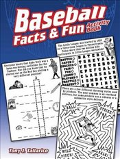 Baseball Facts & Fun Activity Book - Tallarico, Tony