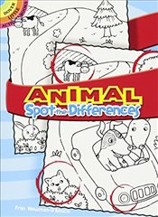 Animal Spot-The-Differences (Dover Little Activity Books) - Newman-DAmico, Fran
