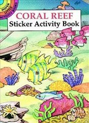 Coral Reef Sticker Activity Book (Dover Little Activity Books Stickers) - Beylon, Cathy