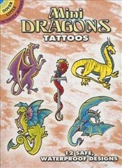 Mini Dragons Tattoos (Dover Tattoos) - Shaffer, Christy