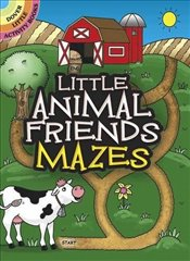 Little Animal Friends Mazes (Dover Little Activity Books) - Newman-DAmico, Fran