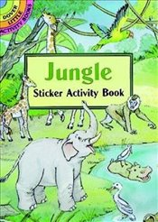 Jungle Sticker Activity Book (Dover Little Activity Books Stickers) - Beylon, Cathy