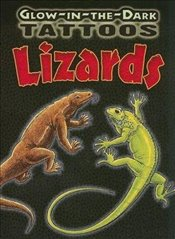 Glow-In-The-Dark Tattoos Lizards (Dover Tattoos) - Shaffer, Christy