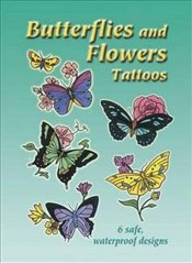 Butterflies and Flowers Tattoos (Dover Tattoos) - Tarbox, Charlene
