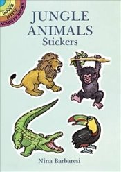 Jungle Animals Stickers (Dover Little Activity Books Stickers) - Barbaresi, Nina