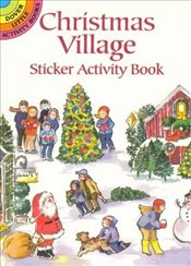 Christmas Village Sticker Activity Book (Dover Little Activity Books Stickers) - OBrien, Joan