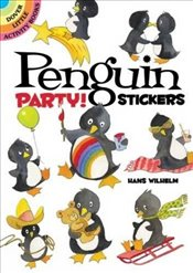 Penguin Party! Stickers (Dover Little Activity Books Stickers) - Wilhelm, Hans